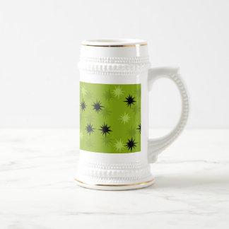 Atom- gröna Starbursts Stein Sejdel