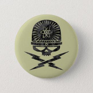 Atom- pirat standard knapp rund 5.7 cm