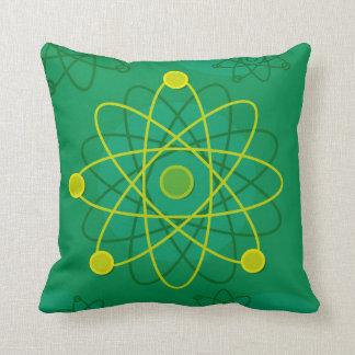 Atom- strukturera grafiskt kudde