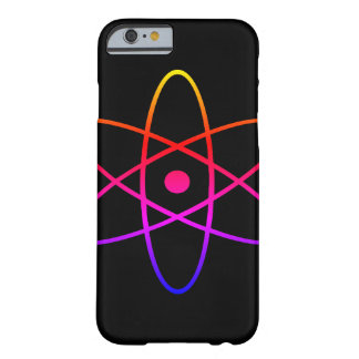 Atom- svarttelefonfodral barely there iPhone 6 skal