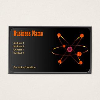 Atom- visitkort