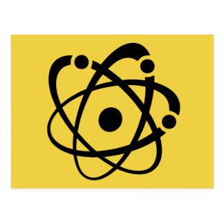 Atom- Wonk Vykort