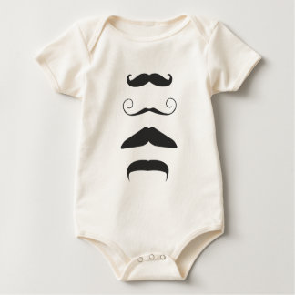Åtskillig Moustache Sparkdräkt