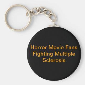Åtskillig Sclerosis Keychain Rund Nyckelring