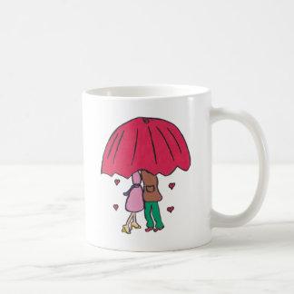 Att älska kopplar ihop muggen kaffemugg