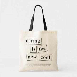 att att bry sig är den nya coolan tygkasse