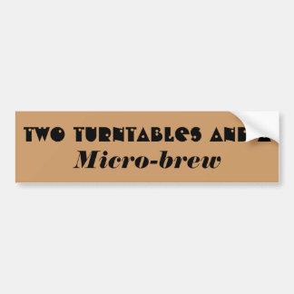 Att att vända bord och… en mikrobrygd? bildekal