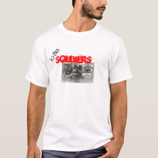 Att att vara soldater t shirts