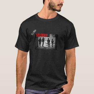 Att att vara svartvita soldater tröjor