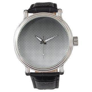 Att blekna som är svartvitt, pricker klockan armbandsur