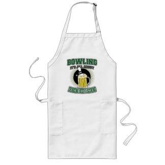 Att bowla det är All om att dricka öl & att göra Långt Förkläde