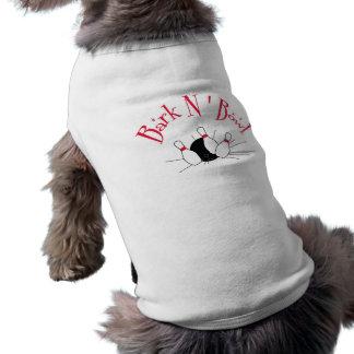 Att bowla klämmer fast inspirerade älsklings- hundtröja