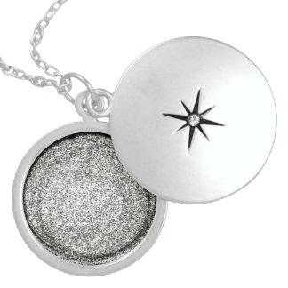 Att bry sig dig som är hem- sterling silver halsband