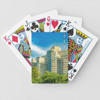Att bygga för sjukhus som är yttre, beskådar, spelkort