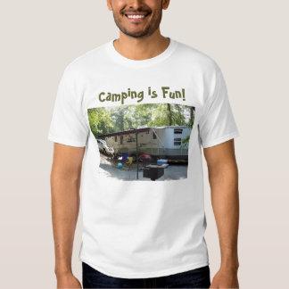 att campa fotoet som campar är roligt! tee