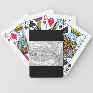 Att färga för ben projekterar vuxen färgläggning spelkort