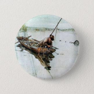 Att fiska med förtjänar 1905 standard knapp rund 5.7 cm
