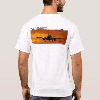 Att flyga på Solnedgång-Lotsar i flyg T-shirt