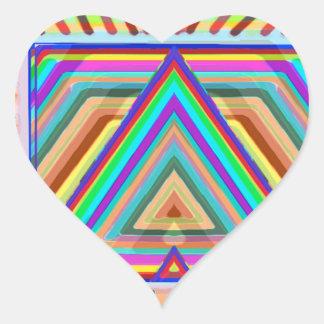 Att flyga som är magical, mattar dekorativa hjärtformat klistermärke