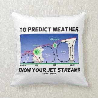 Att förutsäga väder vet att din jet strömmer kudde