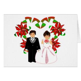 Att gifta sig för jul kopplar ihop I med hjärtakra