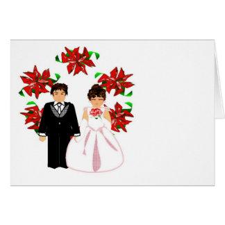 Att gifta sig för jul kopplar ihop I med kranen OBS Kort