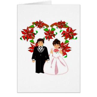 Att gifta sig för jul kopplar ihop I med OBS Kort