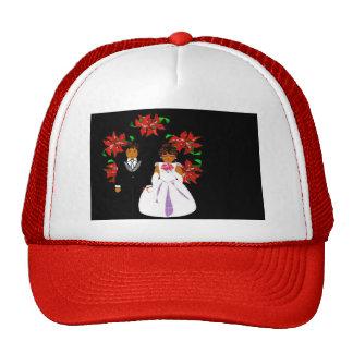 Att gifta sig för jul kopplar ihop i röd rundakran