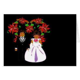 Att gifta sig för jul kopplar ihop med hjärtakrane