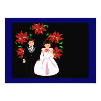 Att gifta sig för jul kopplar ihop med kranen i bl