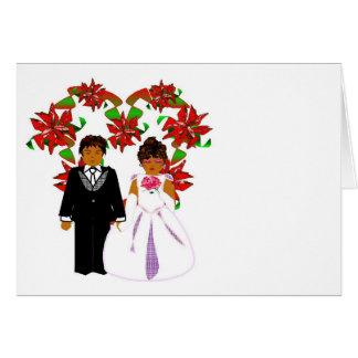 Att gifta sig för jul kopplar ihop med OBS kort