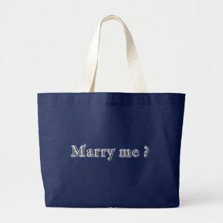 Att gifta sig mig designer jumbo tygkasse