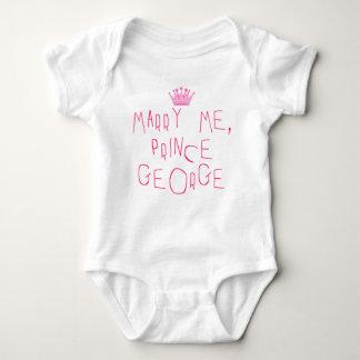 Att gifta sig mig Prince George T Shirt