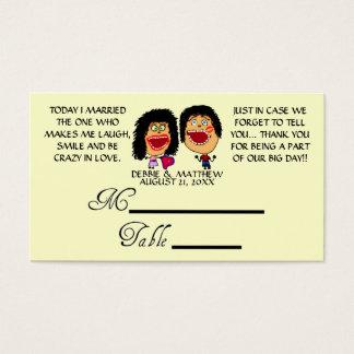 Att gifta sig min bästa vän som gifta sig visitkort
