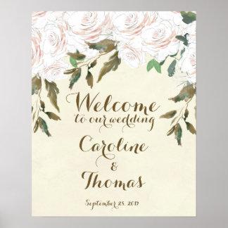 Att gifta sig som är välkommet, undertecknar poster