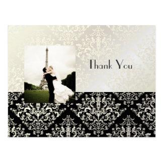 Att gifta sig tackar som dig, sätter vykort in