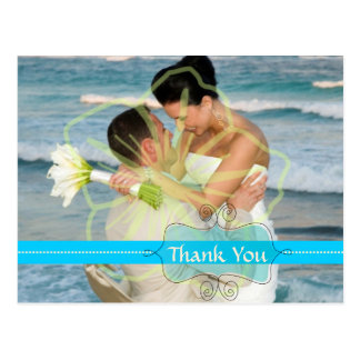 Att gifta sig tackar som dig, sätter vykort in din