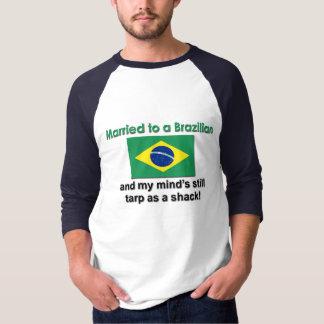 Att gifta sig till en brasilian t shirts
