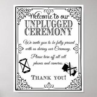 Att gifta sig undertecknar kopplat från gifta sig poster