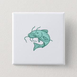Att hoppa för havskattlerakatt som är mono, fodrar standard kanpp fyrkantig 5.1 cm