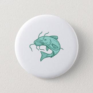 Att hoppa för havskattlerakatt som är mono, fodrar standard knapp rund 5.7 cm