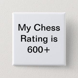 Att klassa för USCF-schack knäppas 600+ Standard Kanpp Fyrkantig 5.1 Cm