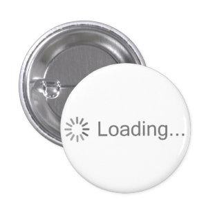 Att ladda avbildar symbolen mini knapp rund 3.2 cm