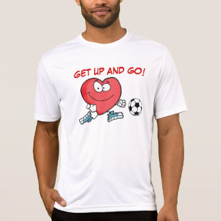 Att leka sportar är bra för din hjärta t-shirts