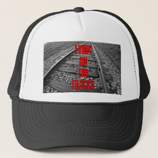Att ljuga på spårar hatten keps