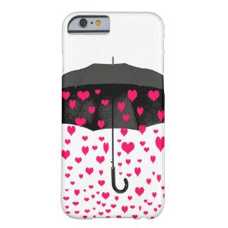 Att regna fodral för hjärtaiPhone 6 täcker Barely There iPhone 6 Skal