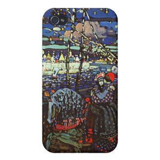 Att rida kopplar ihop vid Wassily Kandinsky iPhone 4 Skal