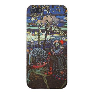 Att rida kopplar ihop vid Wassily Kandinsky iPhone 5 Hud