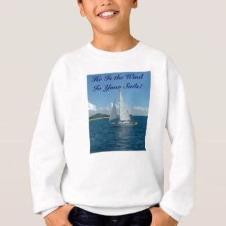 Att segla är han vinden i ditt seglar! t-shirts