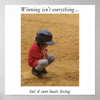 Att segra är inte allt poster